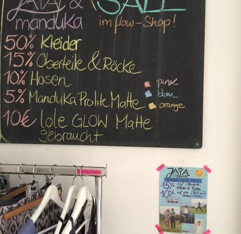 Summer-Sale im flow auf Jaya & Manduka (Update: beendet!)