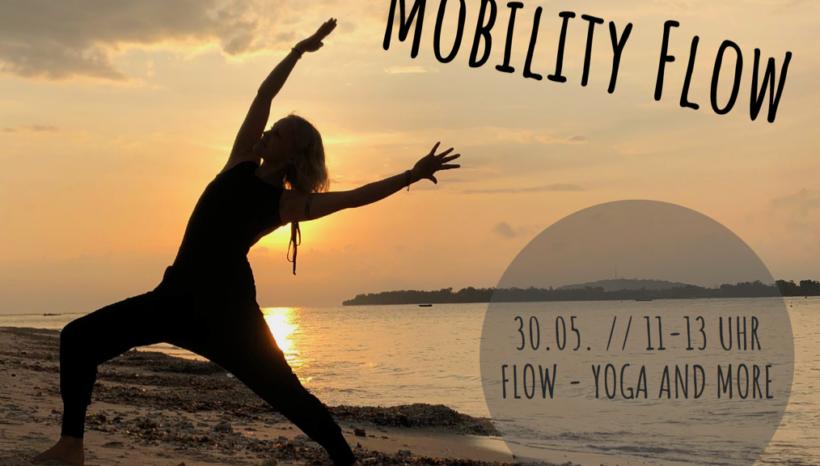 Mobility Flow – Special mit Caro Hopp  – 30.05.2019 11-13 Uhr