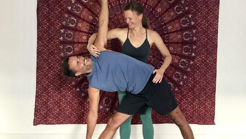 """Weiterbildung für Yogalehrer """"Adjustments verfeinern"""""""