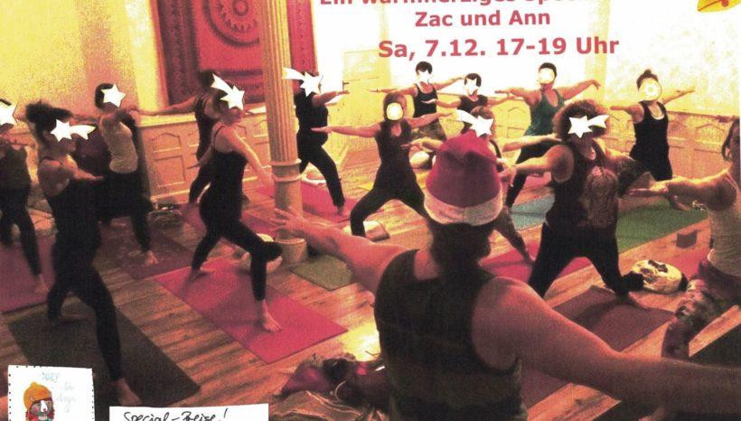 Adventsglück – Special mit Ann und Zac – 7.12.19, 17-19 Uhr