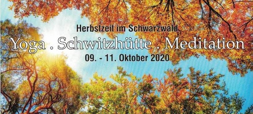Herbstzeit im Schwarzwald – Yoga, Schwitzhütte und Meditation mit Ann und aufReisen