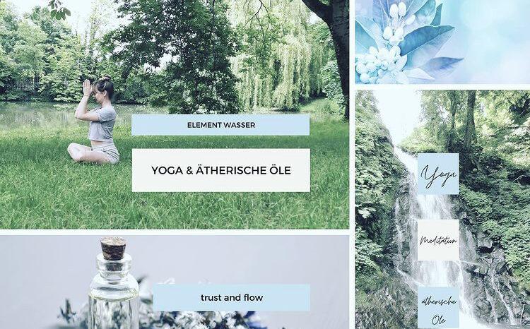 Yoga und ätherische Öle: Das Element Wasser – ein Workshop mit Andrea – Sa. 25.9.